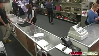 Curious Girl Gets Big Surprise in the Back of the Store